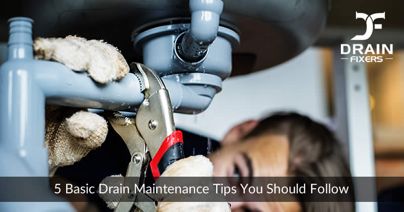 5 Basic Drain Maintenance Tips you should Follow
